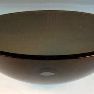 Rund glashåndvask Ø42