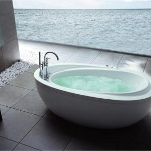 HUA 88 Fritstående badekar