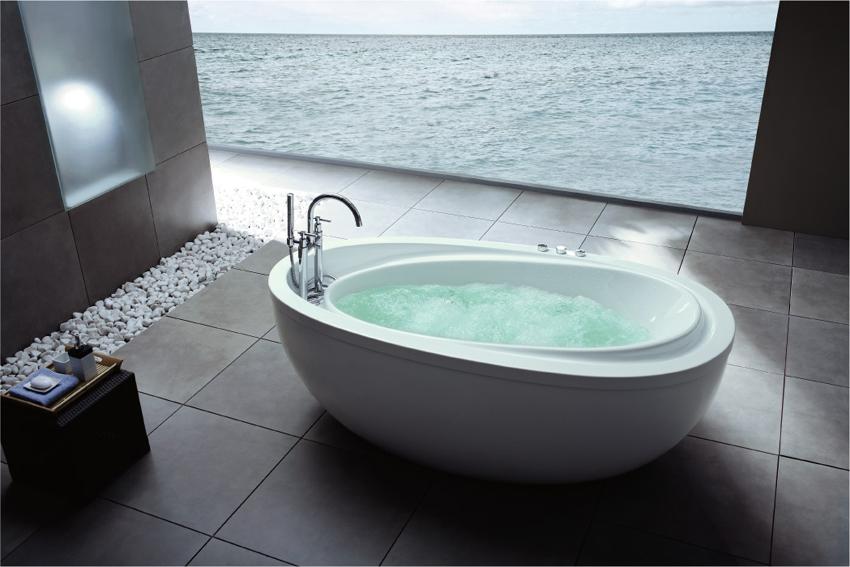badekar fritstående HUA 88 Fritstående badekar   HUA Danmark badekar fritstående